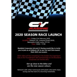 CV Racing launch at Delkevic