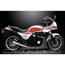 Full Exhaust System to fit GPZ750 Uni-Trak (ZX750A) with Classic Universal Silencer and Stainless Steel 4-1 Down Pipes