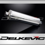 450mm Oval Straight Outlet Stainless Steel Silencer
