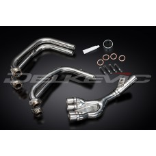 Stainless Steel 4-1 Down Pipes to fit FZS600 FAZER (1998-2003)