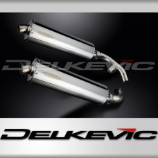 450mm Oval Stainless Steel Silencer to fit CBX1000 Pro Link (1981-1983)