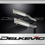 De-Cat Mini 200mm Round Stainless Steel Silencer to fit YZF-R1 2004MY (2004-2006)