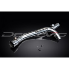 Stainless Steel De-Cat Pipe to fit YZF-R1 (2009-2014)