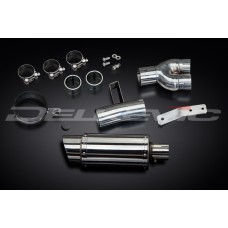 Mini 200mm Round Stainless Steel Silencer to fit NT400 (1988-1993)
