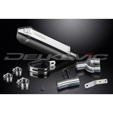 320mm Tri-Oval Stainless Steel Silencer to fit NT400 (1988-1993)