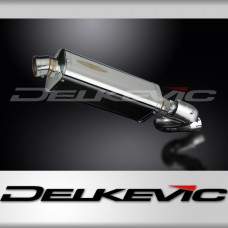 320mm Tri-Oval Stainless Steel Silencer to fit RSV 4 R (2010-2011)