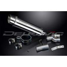 SL10 350mm Round Stainless Steel Silencer to fit NT400 (1988-1993)
