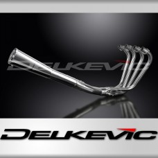 Full Exhaust System to fit GPZ750R1 (KZ750R1) with Classic Universal Silencer and Stainless Steel 4-1 Down Pipes