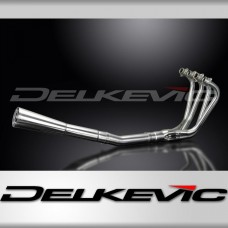 Full Exhaust System to fit CB900C (1980-1982) with Classic Universal Silencer and Stainless Steel 4-1 Downpipes