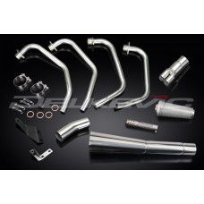 Full Exhaust System to fit CB900F (1979-1983) with Classic Universal Silencer and Stainless Steel 4-1 Downpipes