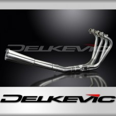 Full Exhaust System to fit CB750C (1980-1982) with Classic Universal Silencer and Stainless Steel 4-1 Downpipes
