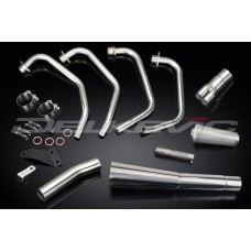 Full Exhaust System to fit CB1000C (1983) with Classic Universal Silencer and Stainless Steel 4-1 Downpipes