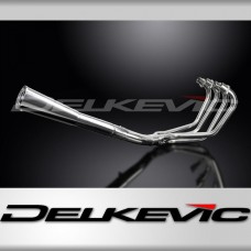 Full Exhaust System to fit CB750K7 SOHC (1977-1978) with Classic Universal Silencer and Stainless Steel 4-1 Downpipes