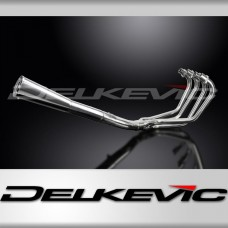 Full Exhaust System to fit CB750F2 (1977-1978) with Classic Universal Silencer and Stainless Steel 4-1 Downpipes