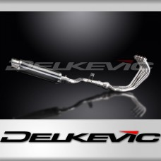 Full Exhaust System to fit XJ6 Diversion (2009-2016) with DL10 350mm Round Carbon Fibre Silencer and