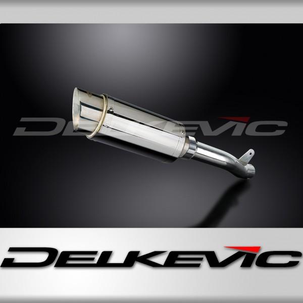 SUZUKI GSXR1000 K1-K2 01-02 200mm STAINLESS RACE SILENCER KIT EXHAUST