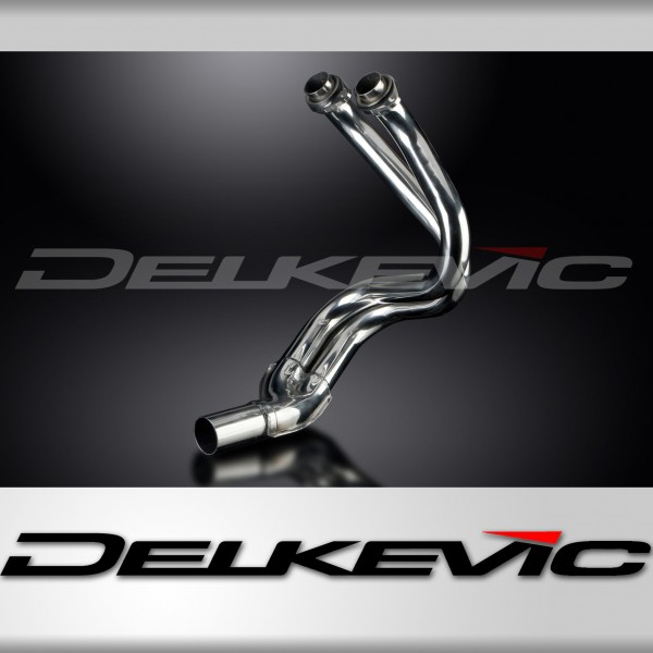 Kawasaki Er6nf 06 11 Stainless Steel 2 1 Exhaust Downpipes