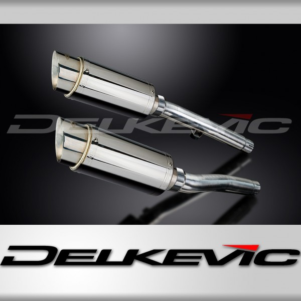 TRIUMPH TROPHY 1200 1991 1993 200mm STAINLESS RACE SILENCER