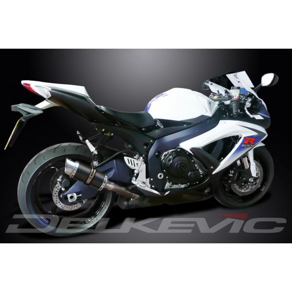 SUZUKI GSXR750 2008-2010 200mm CARBON RACE SILENCER EXHAUST
